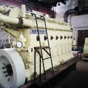 Marine diesel engine SKL type 8VD36/24A1