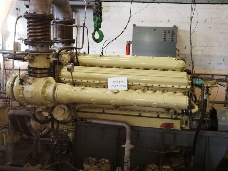 Diesel Engine Zvezda M401A