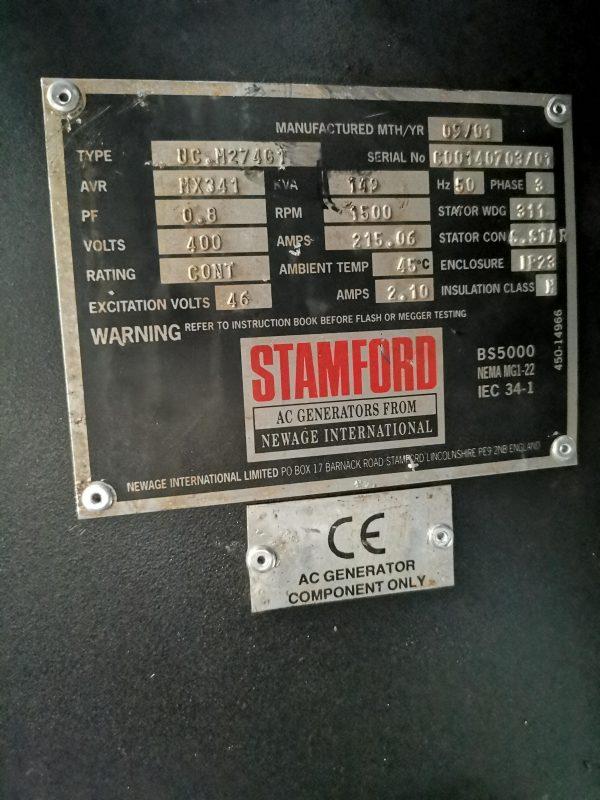 SISU diesel 634 DSBMG 130kw